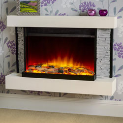 Garland Fires Sonic Electric Fireplace Suite