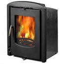 Graphite 6.9Kw Inset Convector Multifuel Wood Stove