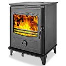 Graphite 10Kw Multifuel Wood Burning Stove
