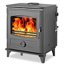 Graphite Multifuel Wood Burning Boiler Stove