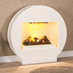 Harrier Fireplaces XT5 Opti-Myst Electric Fireplace Suite