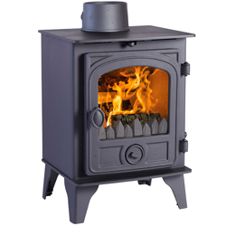 Hunter Stoves Hawk 4 Multi Fuel Wood Burning Stove