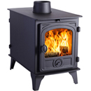 Hunter Stoves Hawk 4 Double Sided DD Wood Burning Stove