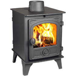 Hunter Stoves Hawk 4 Double Sided SD Wood Burning Stove