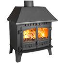 Hunter Stoves Herald 14 Multi Fuel Wood Burning Stove