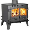 Hunter Stoves Herald 14 Double Sided SD Multi Fuel Wood Burning Stove
