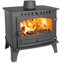 Hunter Stoves Herald 14 Double Sided SD Wood Burning Stove
