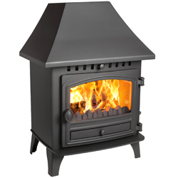Hunter Stoves Herald 6 Multi Fuel Wood Burning Stove