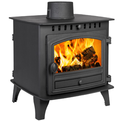 Hunter Stoves Herald 6 Double Sided SD Wood Burning Stove