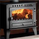 Hunter Stoves Herald 14 Multi Fuel Wood Burning Boiler Stove