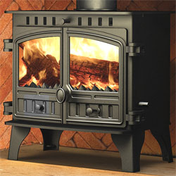 Hunter Stoves Herald 8 Multi Fuel Wood Burning Boiler Stove