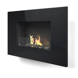 Imagin Fires Arlington Black Bio Ethanol Fireplace