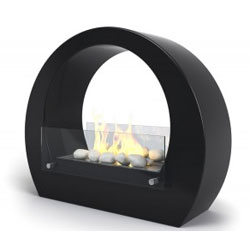 Imagin Fires Boston Black Bio Ethanol Fireplace