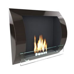 Imagin Fires Fuego Black Bio Ethanol Fireplace