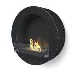 Imagin Fires Henley Black Bio Ethanol Fireplace