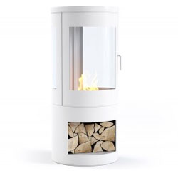 Imagin Fires Howarth White Bio Ethanol Stove