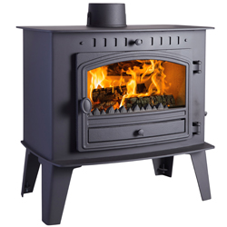 Hunter Stoves High Output Inglenook Multi Fuel Wood Burning Stove