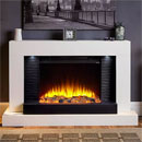 Katell Lares Electric Fireplace Suite