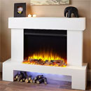Katell Aurora Electric Fireplace Suite