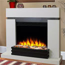 Katell Mercury Electric Fireplace Suite