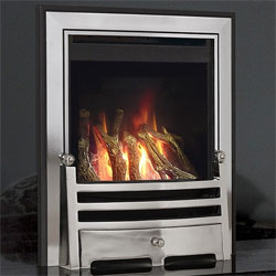 Kinder Revolution Balanced Flue Log Gas Fire
