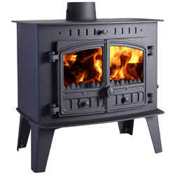 Hunter Stoves Low Output Inglenook Multi Fuel Wood Burning Stove