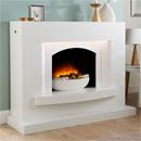 Lumia Alva Electric Fireplace Suite 2Kw Freestanding Electric Suite