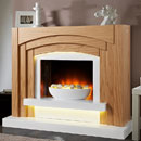 Lumia Arcardo Electric Fireplace Suite