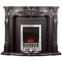 Nexis Fireplaces Aldford Black Fireplace Surround