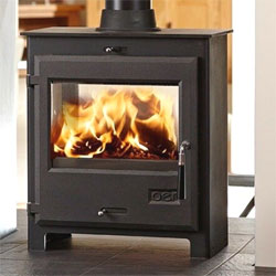 OER Stoves 7 Double Sided Multifuel Wood Burning Stove