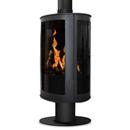 Oak Stoves Drifter Pedestal Balanced Flue Gas Stove