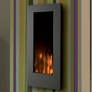 Oak Stoves Q1 Hang on the Wall Electric Fire