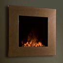 Oak Stoves Q2 Hang on the Wall Electric Fire