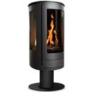 Oak Stoves Serenita Pedestal Balanced Flue Gas Stove