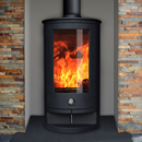 Oak Stoves Zeta 10 Compact Multifuel Wood Burning Stove