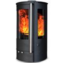 Oak Stoves Zeta 5 Compact Multifuel Wood Burning Stove