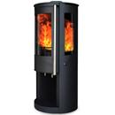 Oak Stoves Zeta 5 Log Store Multifuel Wood Burning Stove