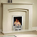 Orial Fires Algarve Marble Fireplace
