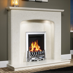 Orial Fires Maxima Marble Fireplace Surround