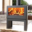 Panadero Nebraska Modern Wood Burning Stove