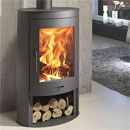 Panadero Oval Contemporary Wood Burning Stove