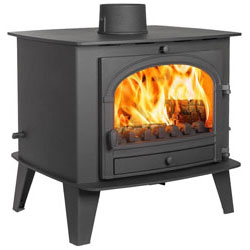 Parkray Consort 15 Double Sided SD Multi Fuel Wood Burning Stove