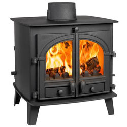 Parkray Consort 7 Double Sided SD Multi Fuel Wood Burning Stove