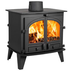 Parkray Consort 9 Double Sided SD Wood Burning Stove