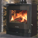 Portway Stoves 2 Curved Glass Multi-Fuel Stove