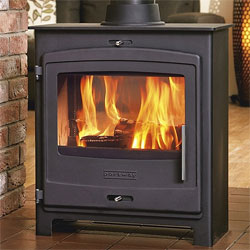 Portway Stoves 2 Double Sided Contemporary Multi-Fuel Stove
