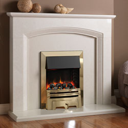Pureglow Ashton Electric Fireplace Suite