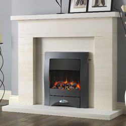 Pureglow Drayton Electric Fireplace Suite