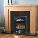 Pureglow Hanley 54 Oak and Juliet Electric Fireplace Suite