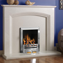 Pureglow Ashton Full Depth Gas Fireplace Suite